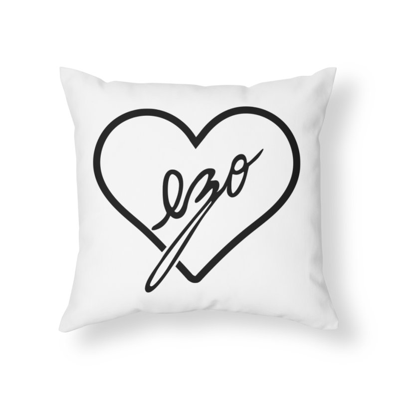 EZO LOVE Home Throw Pillow by ezo's Artist Shop