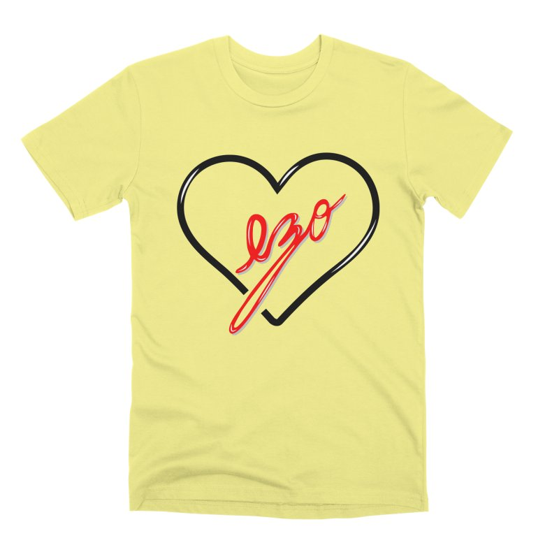 EZO LOVE Men's Premium T-Shirt by ezo's Artist Shop