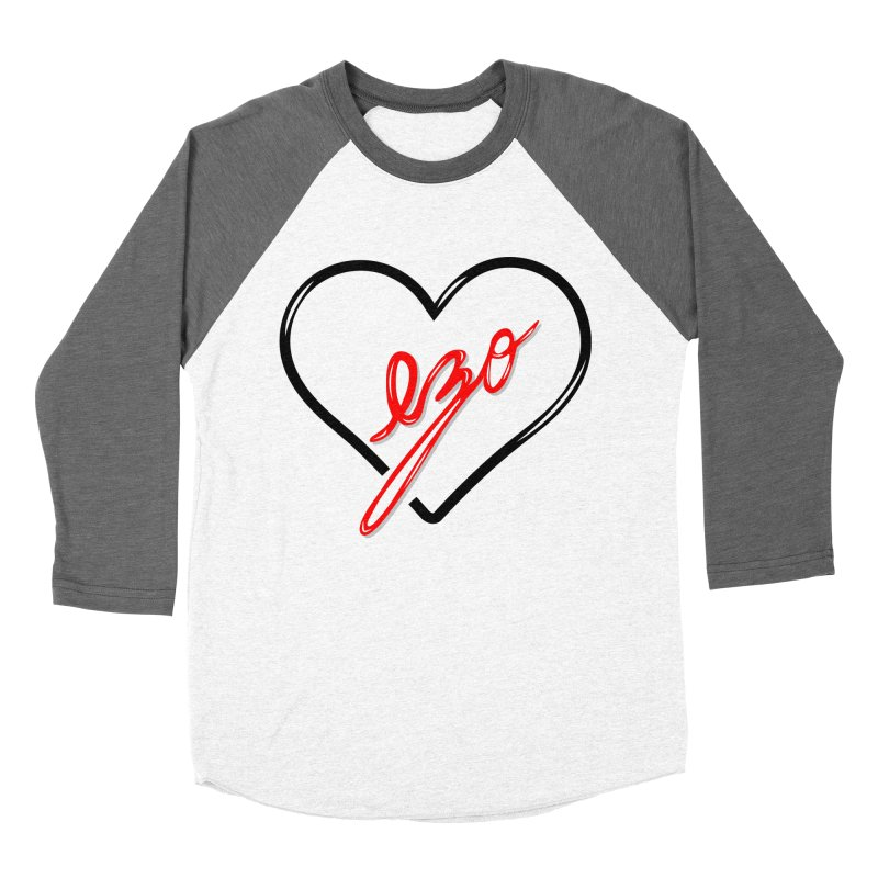 EZO LOVE Women's Baseball Triblend T-Shirt by ezo's Artist Shop