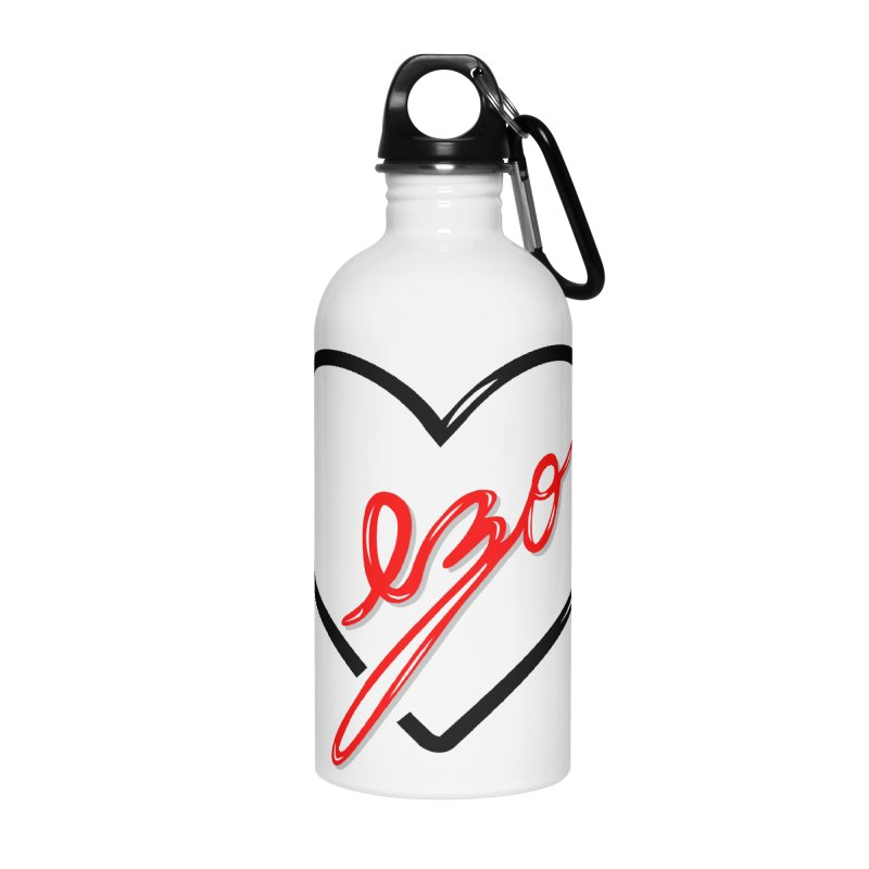 EZO LOVE Accessories Water Bottle by ezo's Artist Shop