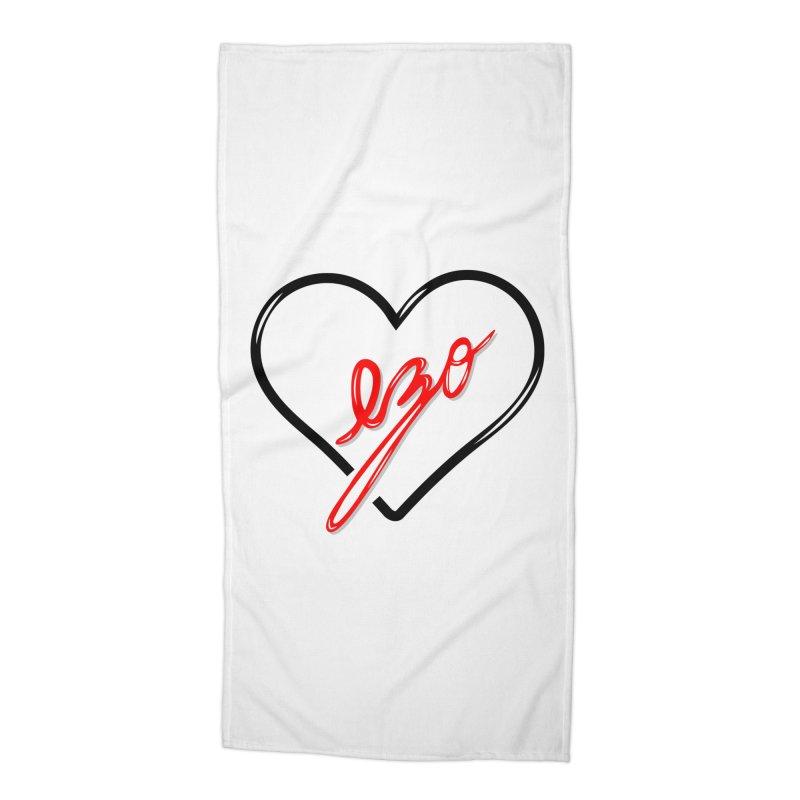 EZO LOVE Accessories Beach Towel by ezo's Artist Shop