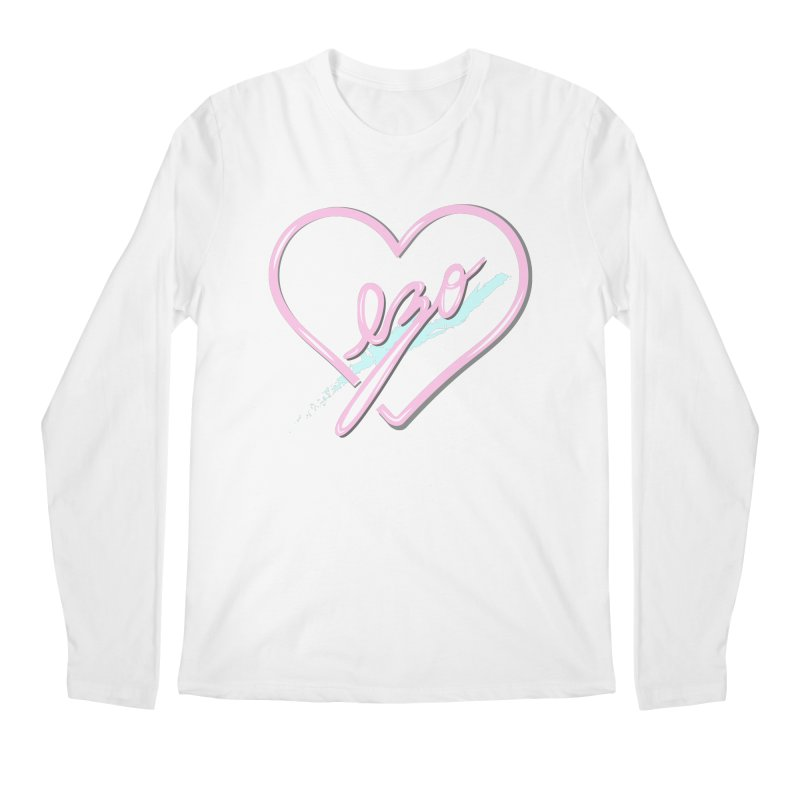 EZO 90'S LOVE Men's Regular Longsleeve T-Shirt by ezo's Artist Shop