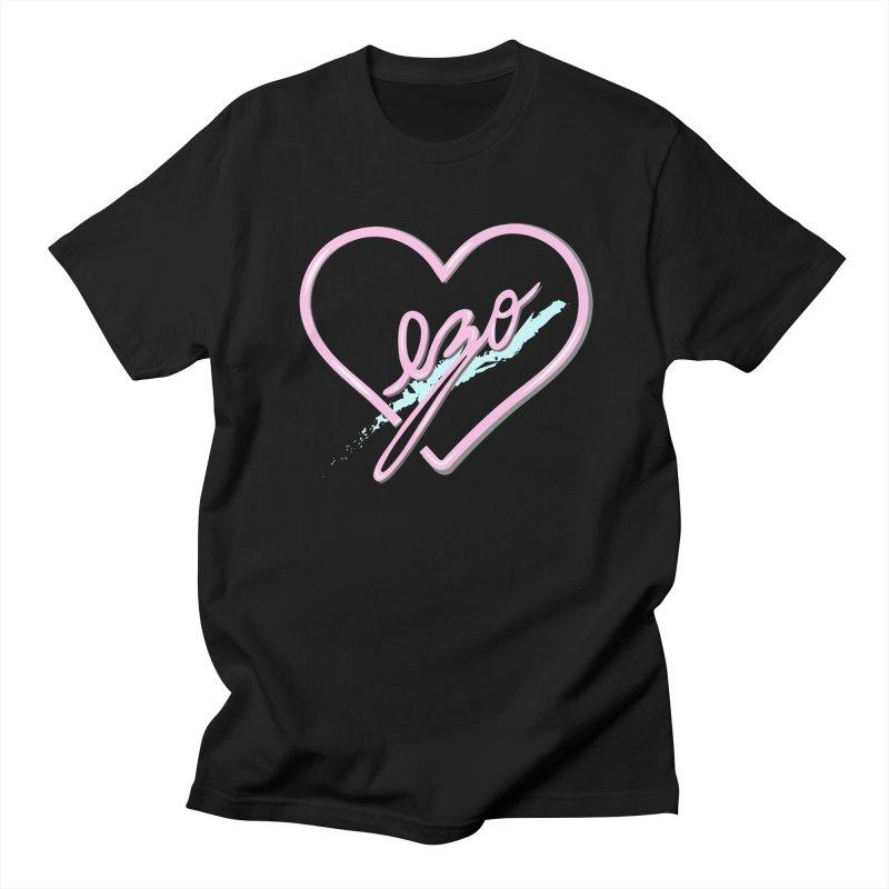 EZO 90'S LOVE Men's T-shirt by ezo's Artist Shop