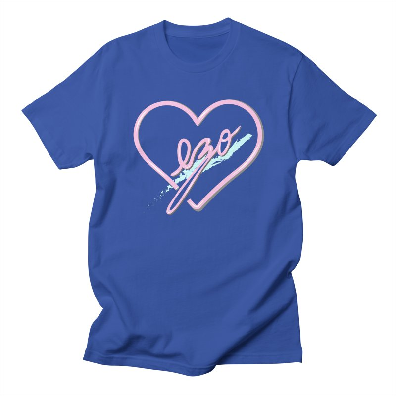EZO 90'S LOVE Men's Regular T-Shirt by ezo's Artist Shop