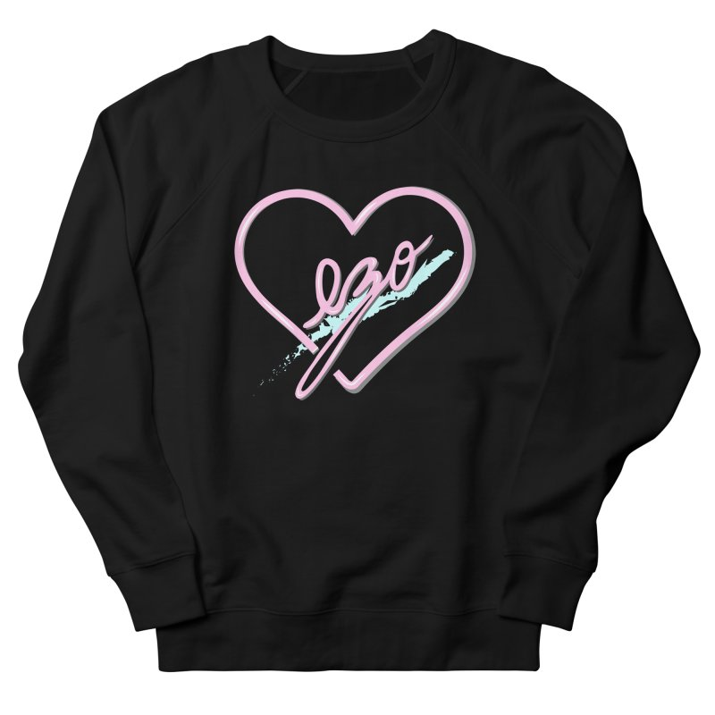 EZO 90'S LOVE Women's Sweatshirt by ezo's Artist Shop
