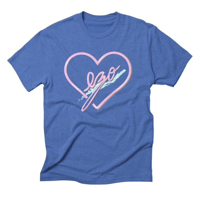 EZO 90'S LOVE Men's Triblend T-shirt by ezo's Artist Shop