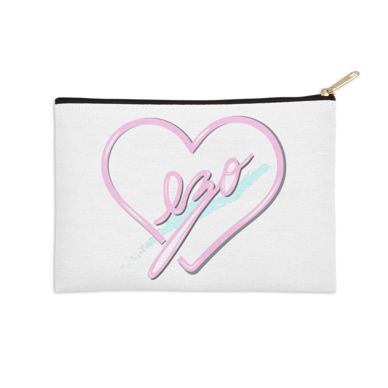 EZO 90'S LOVE Accessories Zip Pouch by ezo's Artist Shop