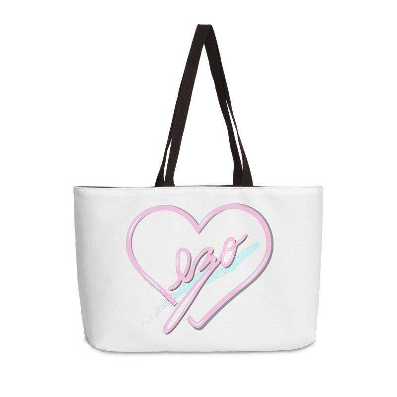 EZO 90'S LOVE Accessories Weekender Bag Bag by ezo's Artist Shop