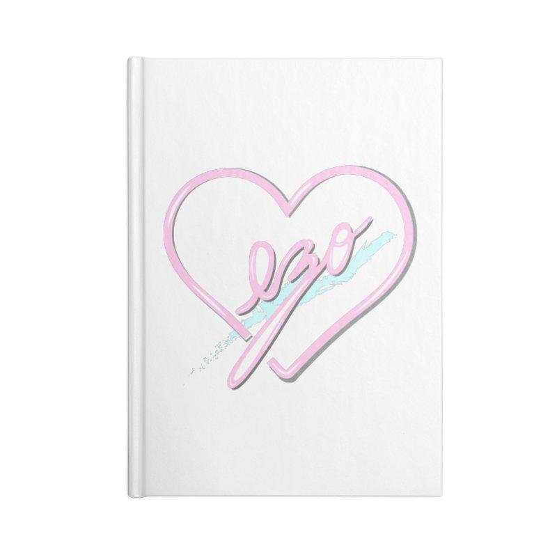 EZO 90'S LOVE Accessories Notebook by ezo's Artist Shop