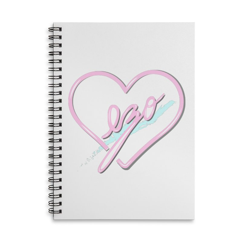 EZO 90'S LOVE Accessories Lined Spiral Notebook by ezo's Artist Shop