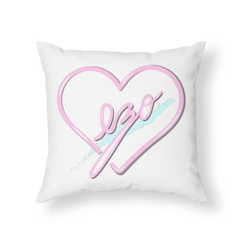 EZO 90'S LOVE Home Throw Pillow by ezo's Artist Shop