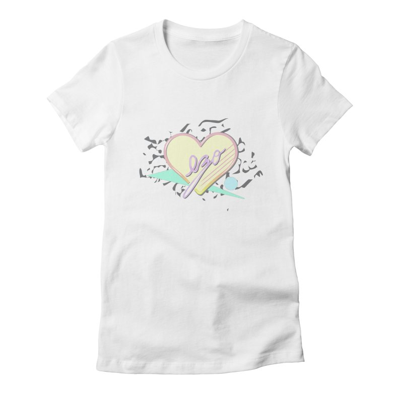 Thats So 90s...Ezo Women's Fitted T-Shirt by ezo's Artist Shop