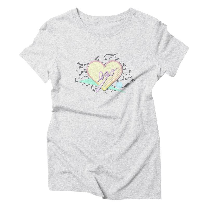 Thats So 90s...Ezo Women's Triblend T-shirt by ezo's Artist Shop