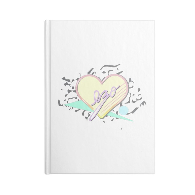 Thats So 90s...Ezo Accessories Lined Journal Notebook by ezo's Artist Shop
