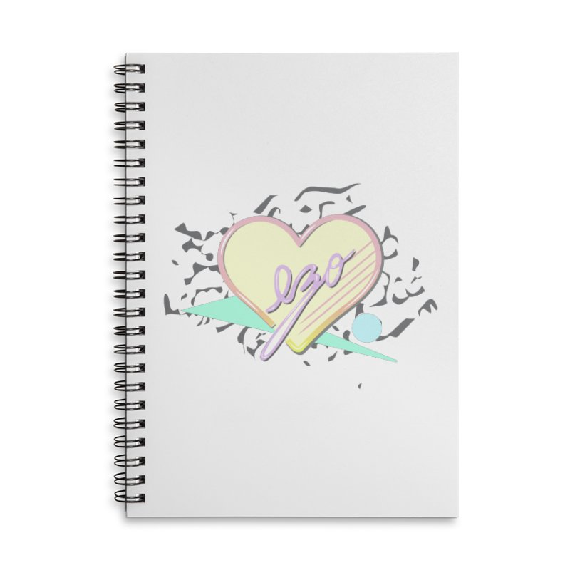 Thats So 90s...Ezo Accessories Lined Spiral Notebook by ezo's Artist Shop
