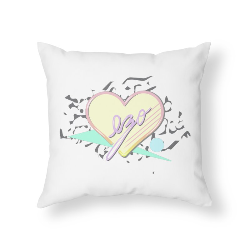 Thats So 90s...Ezo Home Throw Pillow by ezo's Artist Shop