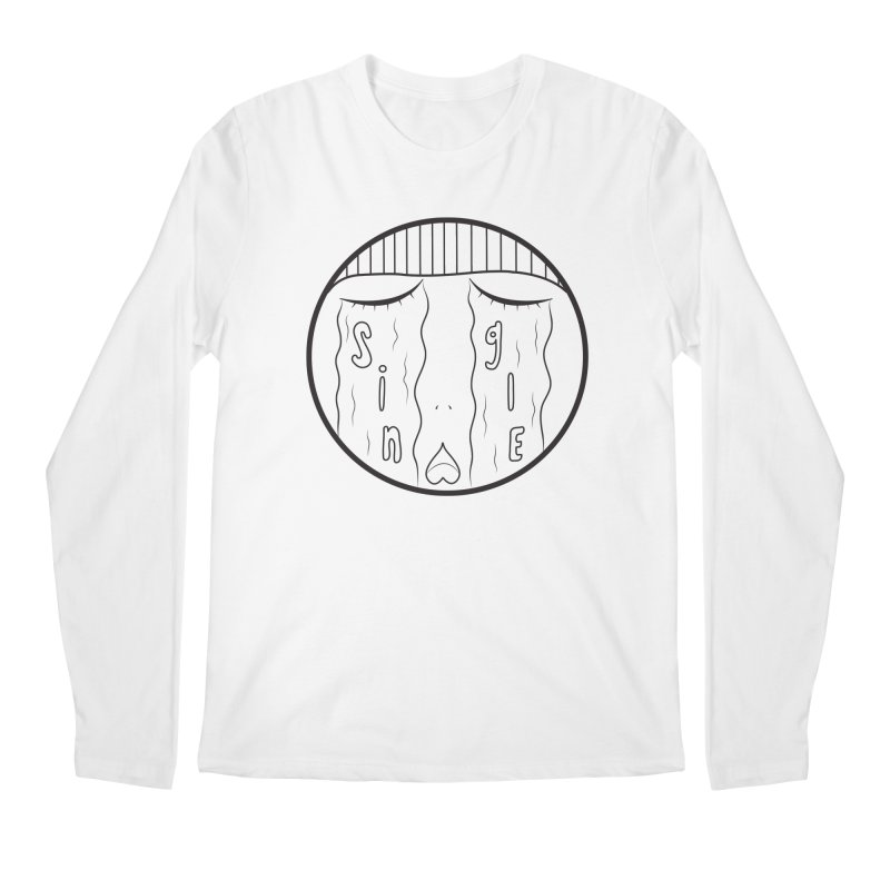 Single On Vday Men's Longsleeve T-Shirt by ezo's Artist Shop