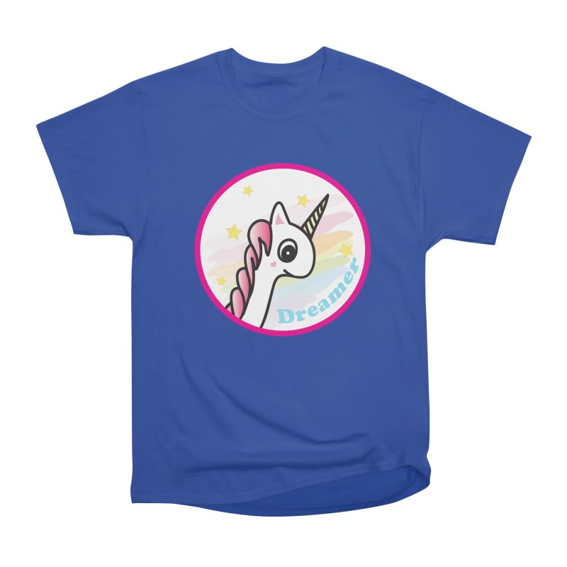 EZO Unicorn Dreamer Women's Heavyweight Unisex T-Shirt by ezo's Artist Shop