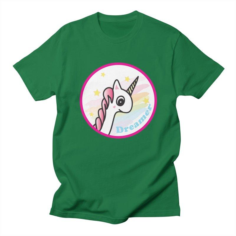 EZO Unicorn Dreamer Women's Regular Unisex T-Shirt by ezo's Artist Shop