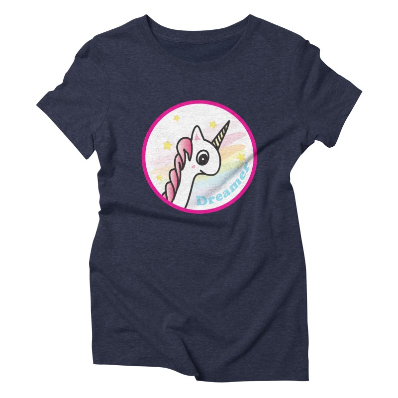 EZO Unicorn Dreamer Women's Triblend T-Shirt by ezo's Artist Shop