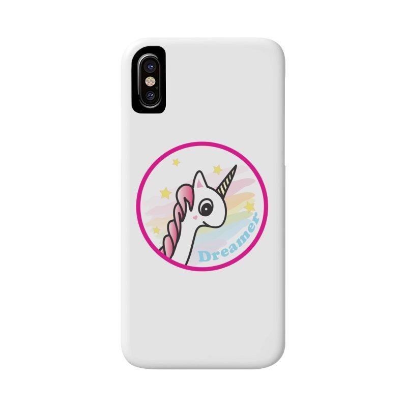 EZO Unicorn Dreamer Accessories Phone Case by ezo's Artist Shop