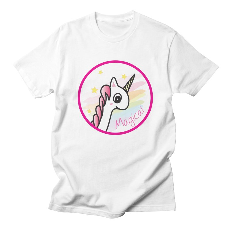 EZO Unicorn Magical Men's T-Shirt by ezo's Artist Shop