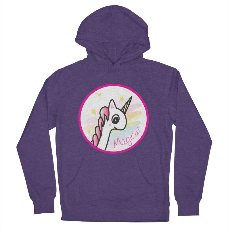 EZO Unicorn Magical Women's Pullover Hoody by ezo's Artist Shop