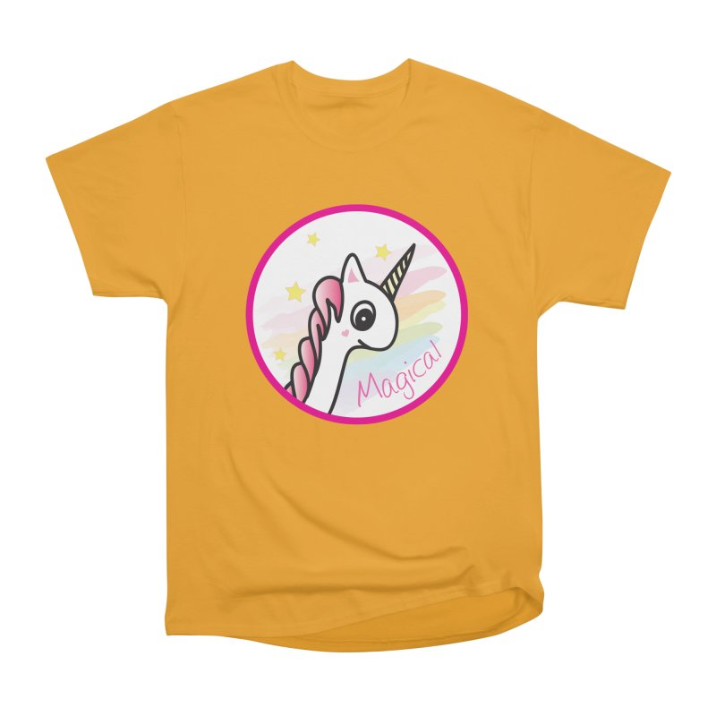 EZO Unicorn Magical Women's Heavyweight Unisex T-Shirt by ezo's Artist Shop