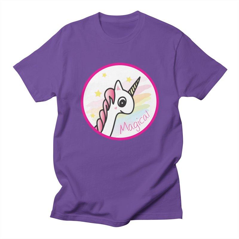 EZO Unicorn Magical Women's Unisex T-Shirt by ezo's Artist Shop
