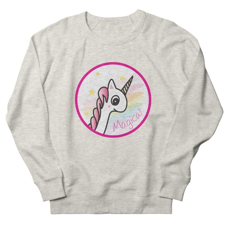EZO Unicorn Magical Women's Sweatshirt by ezo's Artist Shop