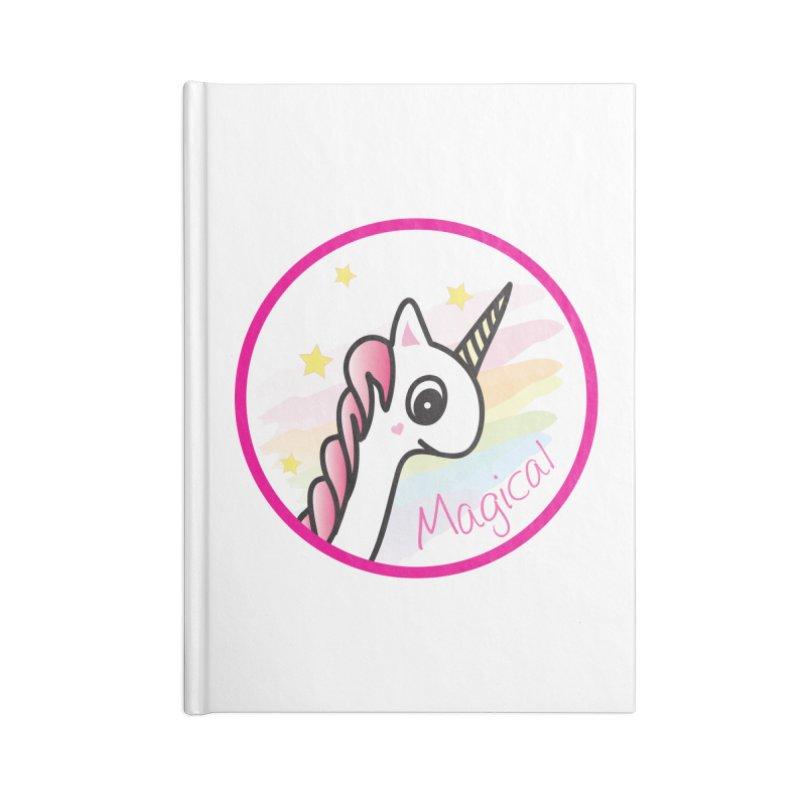 EZO Unicorn Magical Accessories Notebook by ezo's Artist Shop
