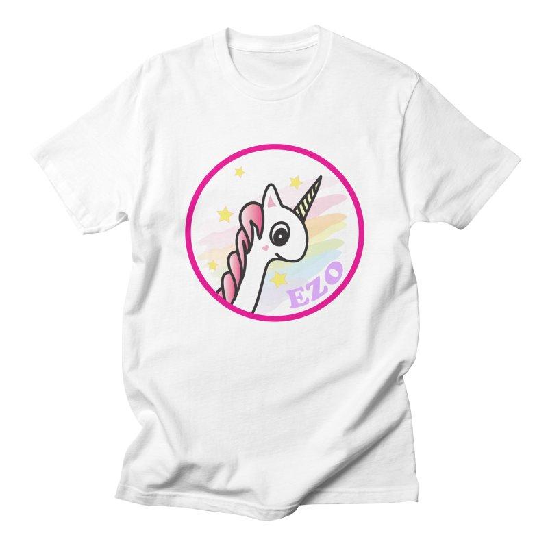 EZO Unicorn Men's T-Shirt by ezo's Artist Shop