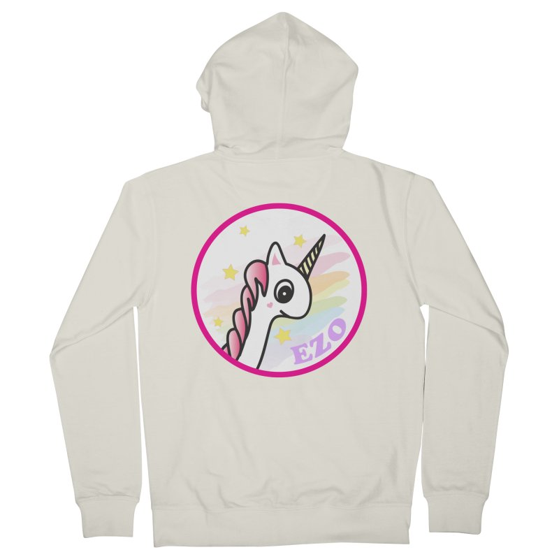 EZO Unicorn Women's Zip-Up Hoody by ezo's Artist Shop