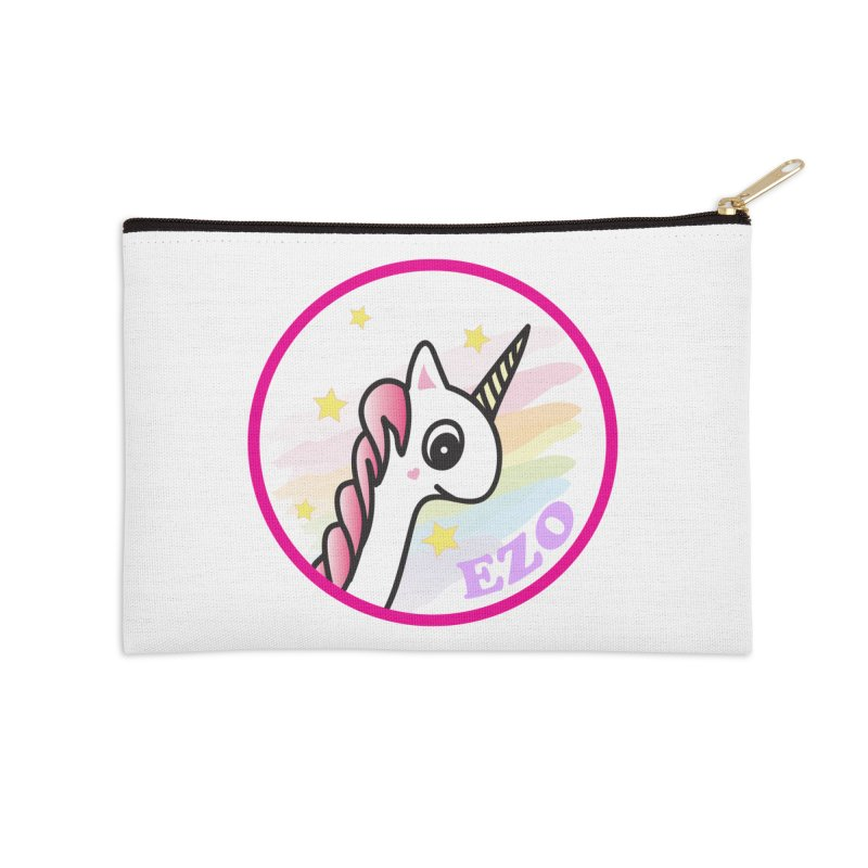EZO Unicorn Accessories Zip Pouch by ezo's Artist Shop