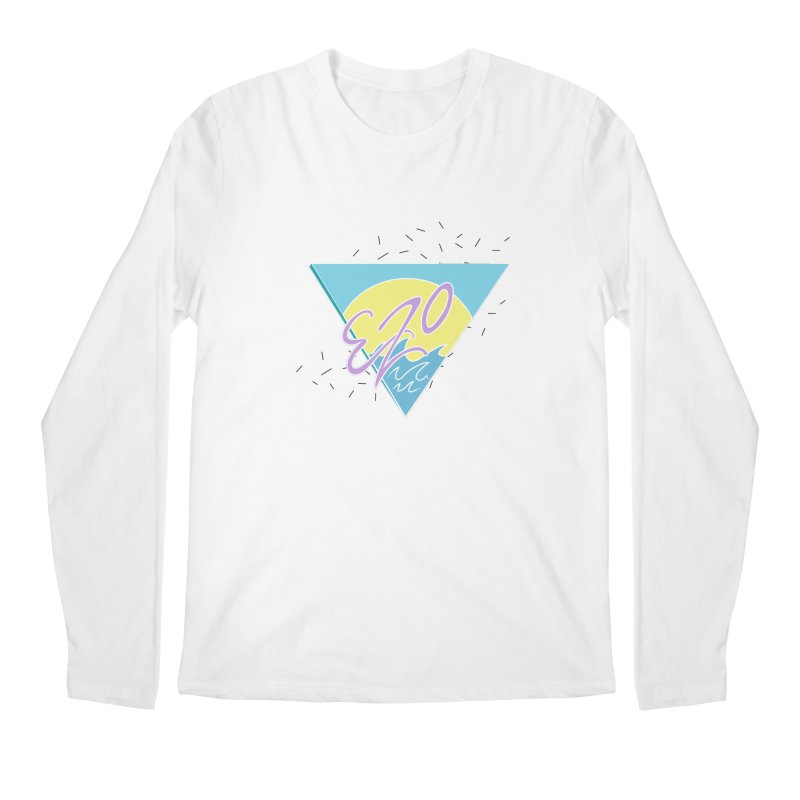90's Summer Waves Men's Longsleeve T-Shirt by ezo's Artist Shop