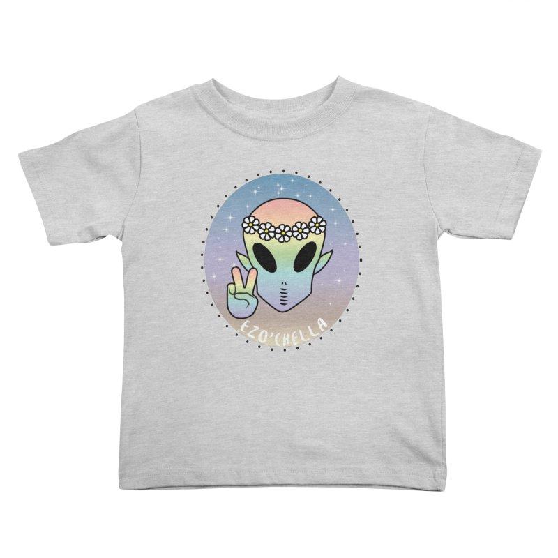EZO'CHELLA Kids Toddler T-Shirt by ezo's Artist Shop