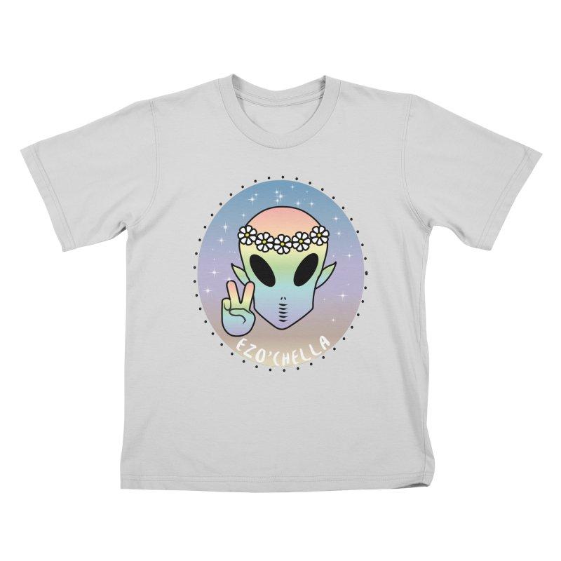 EZO'CHELLA Kids T-Shirt by ezo's Artist Shop
