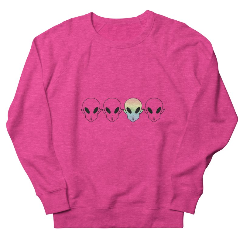 Be Different Men's French Terry Sweatshirt by ezo's Artist Shop