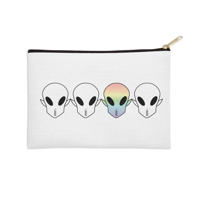 Be Different Accessories Zip Pouch by ezo's Artist Shop