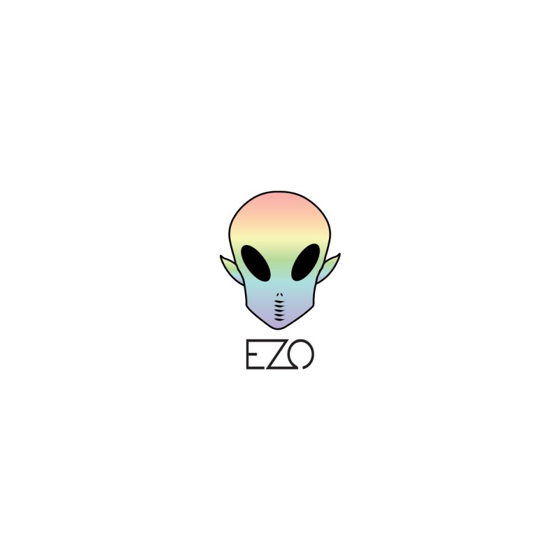 EZO Alien Typography   by ezo's Artist Shop