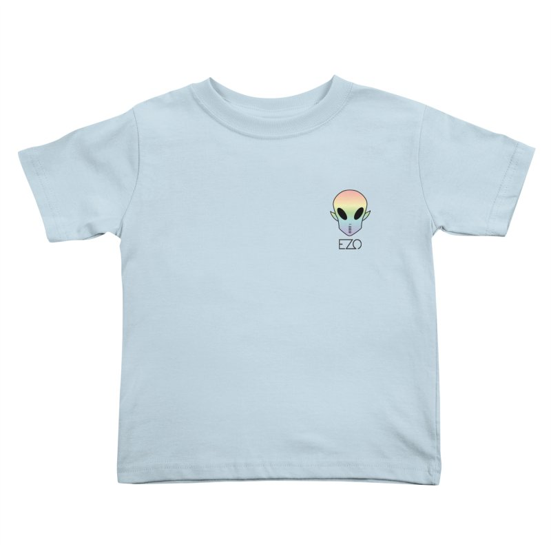 EZO Alien Typography Kids Toddler T-Shirt by ezo's Artist Shop