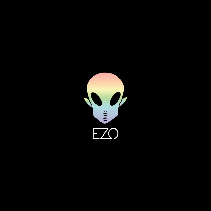 EZO Alien Type - White None  by ezo's Artist Shop