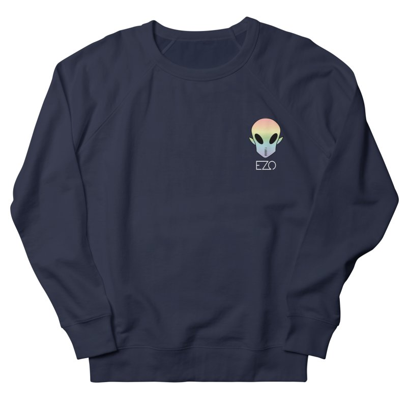 EZO Alien Type - White Women's Sweatshirt by ezo's Artist Shop