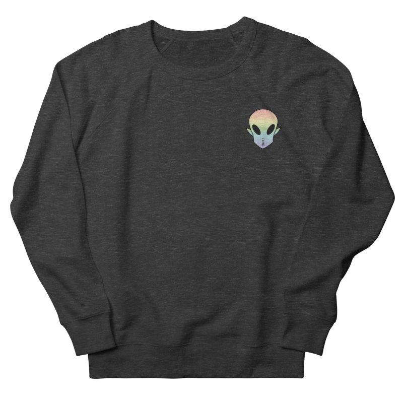 EZO Wannabe Alien Patch Shirt Women's Sweatshirt by ezo's Artist Shop