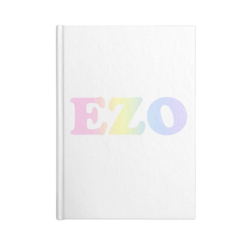 EZO SPECTRUM Accessories Lined Journal Notebook by ezo's Artist Shop