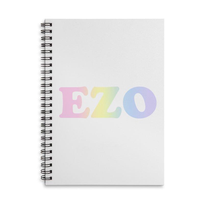 EZO SPECTRUM Accessories Lined Spiral Notebook by ezo's Artist Shop