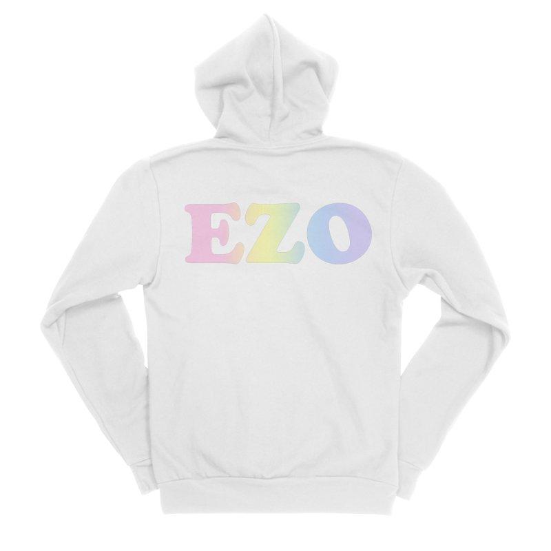 EZO SPECTRUM Women's Sponge Fleece Zip-Up Hoody by ezo's Artist Shop