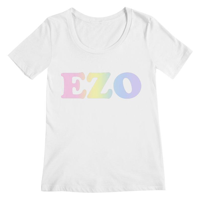 EZO SPECTRUM Women's Regular Scoop Neck by ezo's Artist Shop