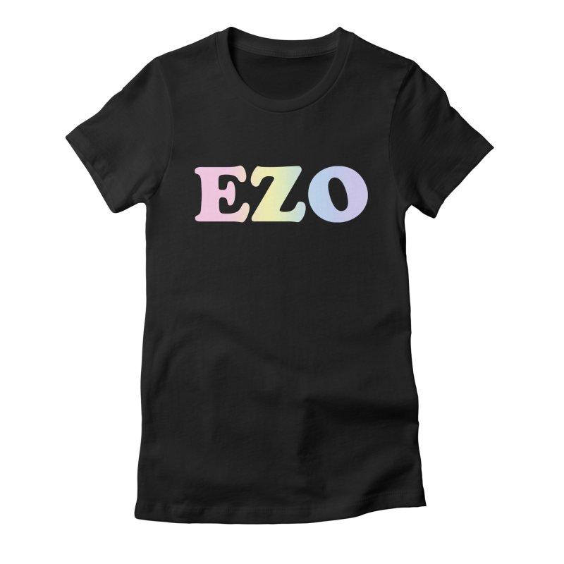 EZO SPECTRUM Women's Fitted T-Shirt by ezo's Artist Shop