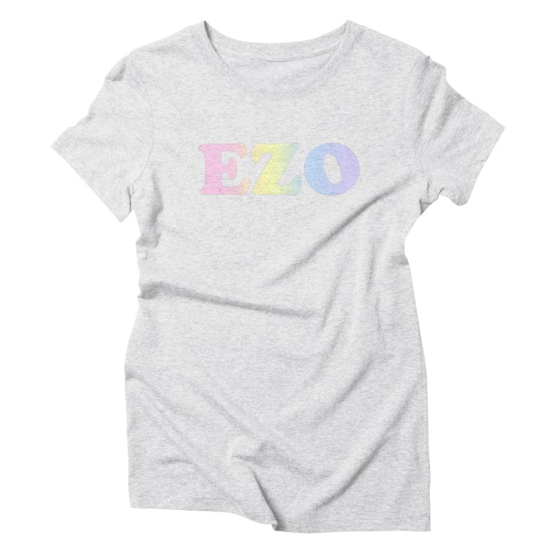 EZO SPECTRUM Women's Triblend T-Shirt by ezo's Artist Shop